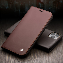 Luxury Genuine Leather Retro business Fhx-21k Phone Case for