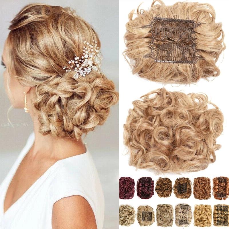 Пластиковая расческа для вьющихся синтетических волос, заколка-шиньон для наращивания волос, заколка гулька волосы аксессуары