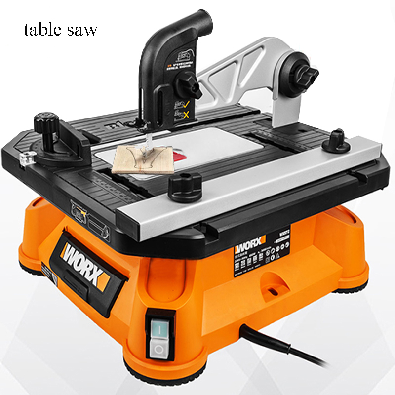Electric Wood Saw Multi-functional Sawing Machine Wood Cutting Machine Carpentry Woodworking Jig Saw Table Saw Circular