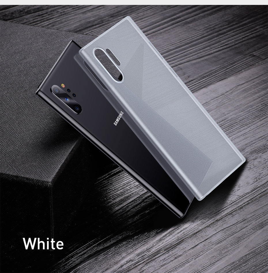 Baseus 0.4mm Ultra Thin Case for Samsung Galaxy Note 10 Case Note 10 Plus Coque Soft Slim PP Cover Back Case for Note 10 Pro