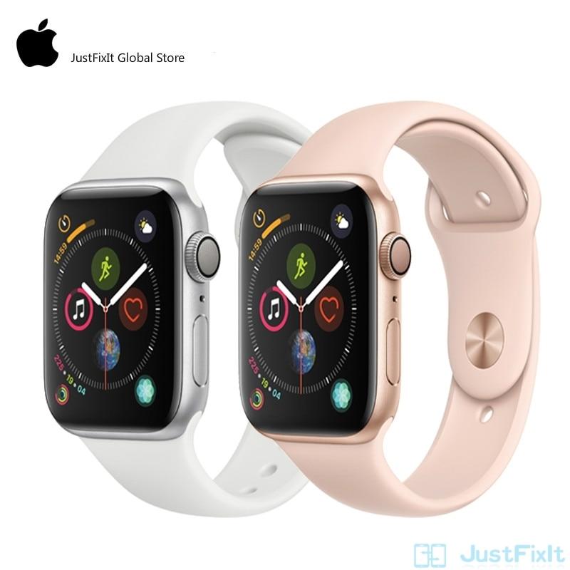 Apple Watch 4 Series 4 LTE 44mm SportBand Smart Watch 2 Heart Rate Sensor ECG Fallen Detect Activity Track Workout...