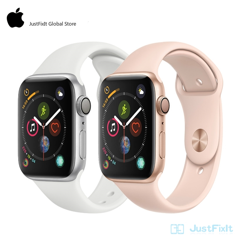 Apple Watch 4 Series 4 LTE 44mm SportBand Smart Watch 2 Heart Rate <font><b>Sensor</b></font> <font><b>ECG</b></font> Fallen Detect Activity Track Workout for iPhone image
