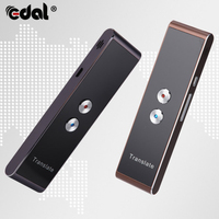 EDAL Portable Smart Speech Translator Two Way Real Time 30 Multi Language Translation For Learning Travelling Business MeetingHW|Translator| |  -