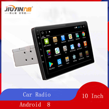 JIUYIN 10 Inch One Din Car Multimedia Player Android os Quad Core  Radio GPS Stereo Audio for Volkswagen nissan Kia Hyundai