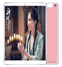 Tempered Glass 10 inch Tablets Android 9.0 3G 4G LTE Tablet PC 1280*800 6GB RAM 128GB ROM Dual SIM IPS GPS phone Tablets(China)