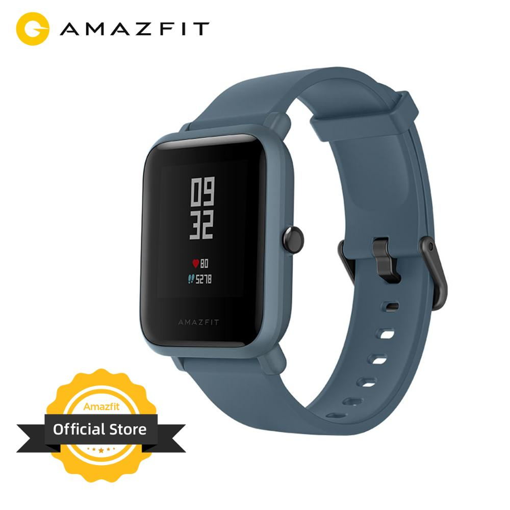 Global Version Amazfit Bip Lite Smart Sports Watch 45-Days Battery Life 3ATM Swim Proof Smartwatch Music Control Multi Language