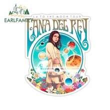 EARLFAMILY-pegatinas de coche para Lana Del Rey, pegatinas de Anime 3D impermeables, bricolaje, impresión personalizada, parachoques, decoración de ventana, 13cm x 10,6 cm