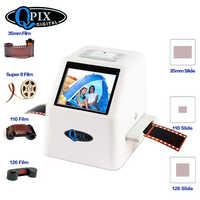 "35mm Film Scanner 22 Mega Pixel Negative Slide Scanner 110 135 126KPK Digital Film Konverter mit 2.4 ""LCD unterstützung Russische"
