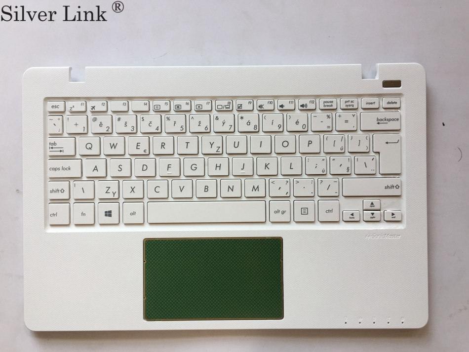 Czech Arabic Germany Hebrew Hungary Korea Nordic Palmrest Top Cover Keyboard For ASUS F200 F200CA F200LA F200MA R202CA White