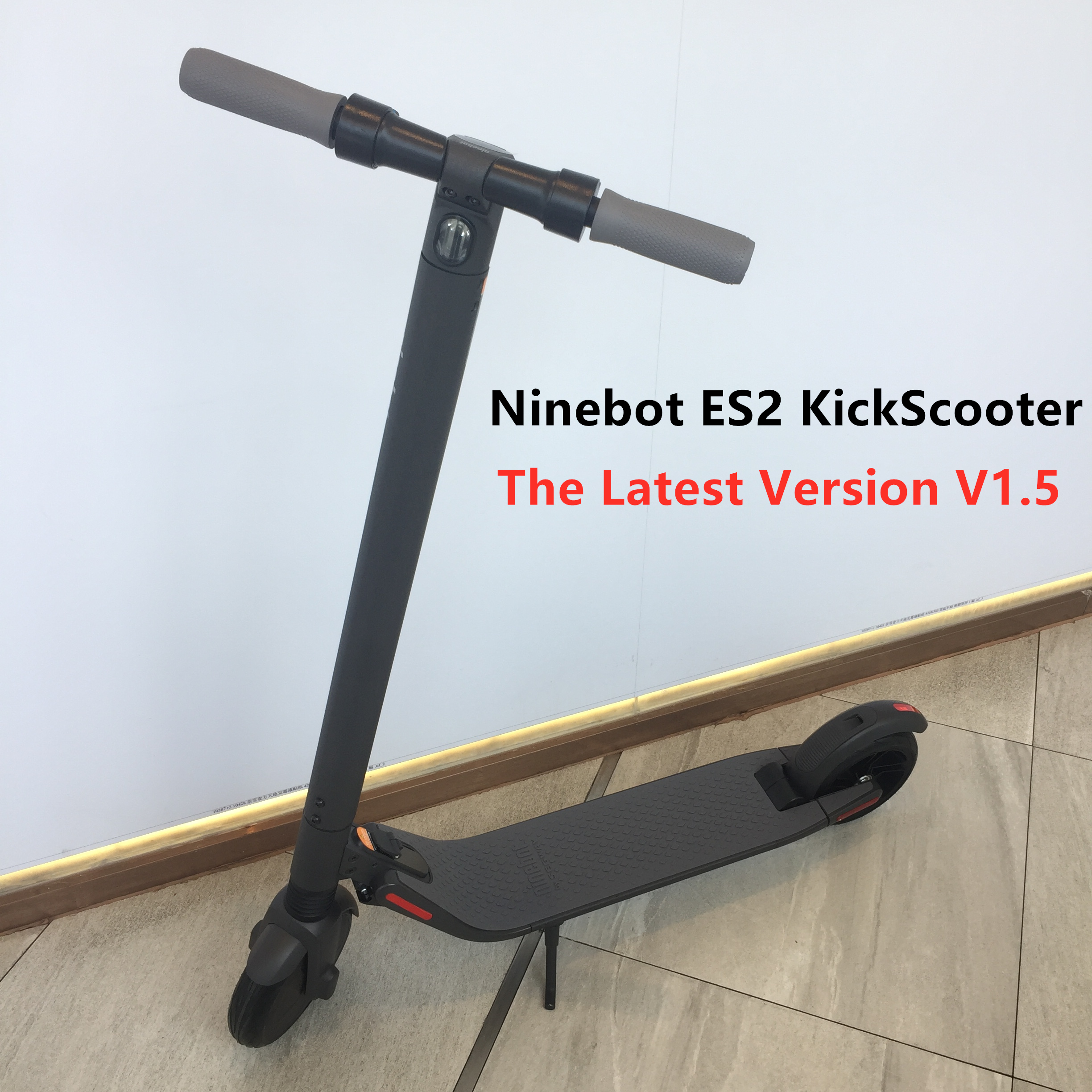 Original Ninebot ES2 Smart Electric Scooter The Latest V1.5 Foldable Kick Scooter Lightweight 25KM Skateboard Long Hover Board