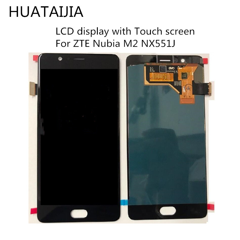 Original NEW For ZTE Nubia M2 <font><b>NX551J</b></font> LCD Display Touch Screen Digitizer For ZTE Nubia M2 Display Assembly Replacement Screen LCD image