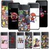 Smartphone Case For Samsung Galaxy Z Flip3 5G Z Flip 3 z flip ZF 5G Cover PC Capa Hard Funda Coque Marvel Kawaii Characters