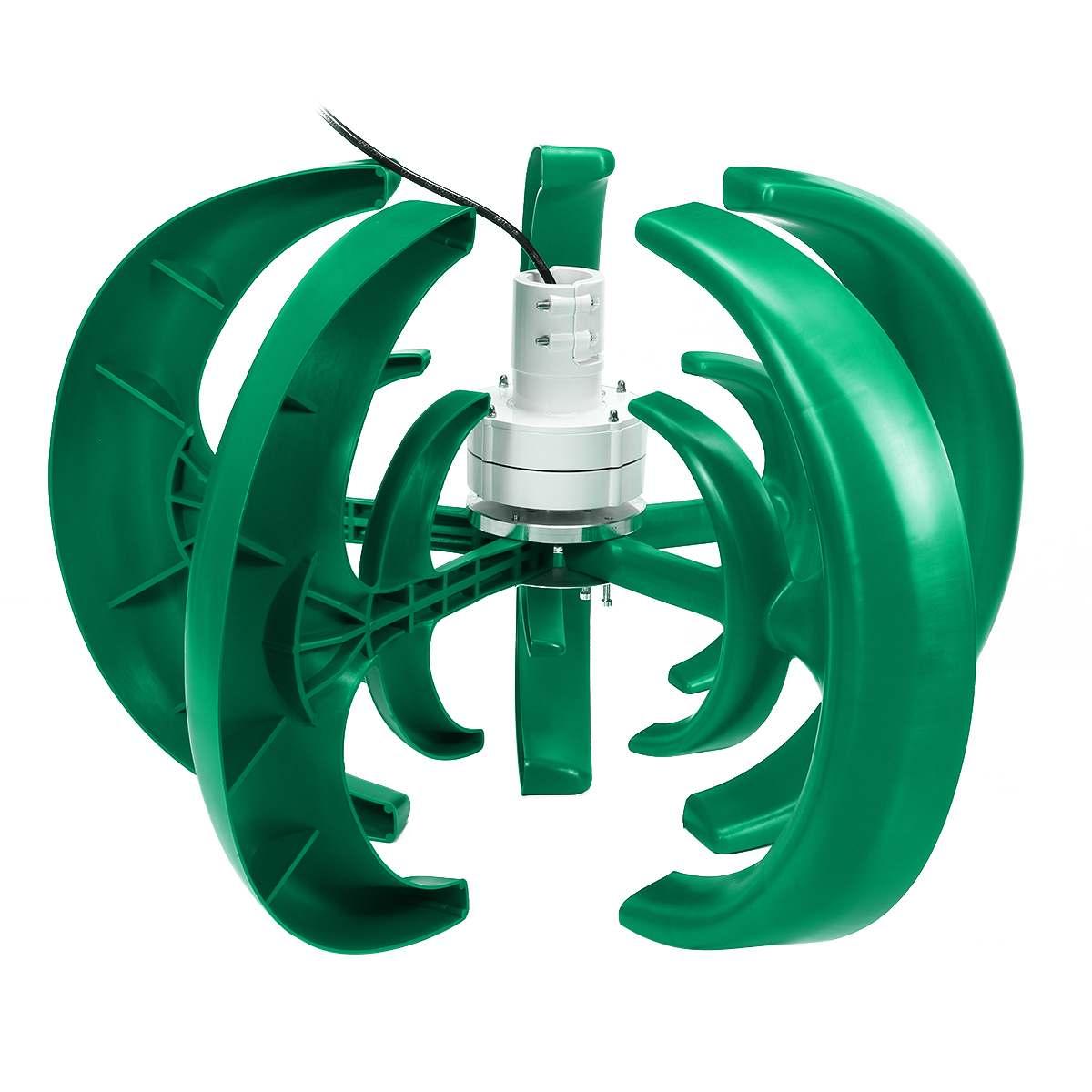 gerador lanterna 10 lâminas motor kit turbinas