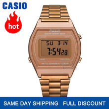 Casio montre en or montre pour hommes top marque de luxe LED numérique Quartz étanche montre les sports militaire montre-bracelet relogio masculino reloj hombre erkek kol saati zegarek meski B640WC