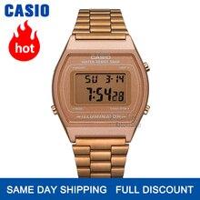 Zegarek Casio złoty zegarek mężczyźni top marka luksusowy LED cyfrowy Wodoodporny zegarek kwarcowy mężczyźni Sportowy zegarek wojskowy часы мужские relogio masculino reloj hombre erkek kol saati montre homme B640WC