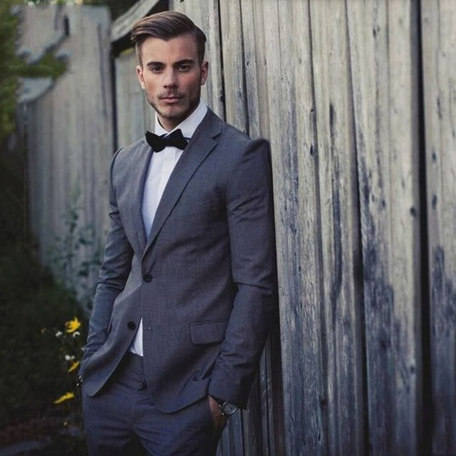 Elegant-Grey-Men-Suits-For-Wedding-Groom-Tuxedos-Best-Man-Party-Prom-Man-Blazer-2-Pieces