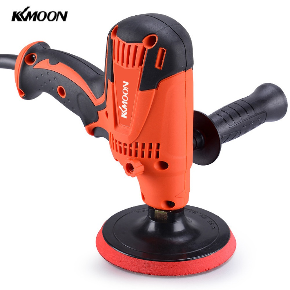 KKmoon 800W Adjustable Speed Car Electric Polisher Waxing Machine Automobile Furniture Polishing Machine Power Tools