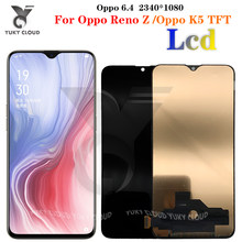 TFT Black 6.4 inch For Oppo Reno Z CPH1979 PCDM10 PCDT10 / For Oppo K5 LCD DIsplay Touch Screen Digitizer Assembly Replacement