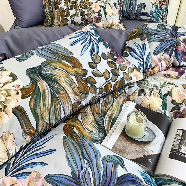 Egyptian Cotton Soft Bedding Set 5 Pcs 5
