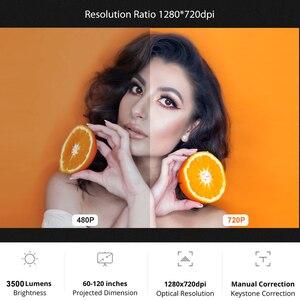 Image 2 - AAO YG420 מיני הוביל 720 P מקרן Native 1280x720 נייד אלחוטי WiFi רב מסך וידאו Beamer YG421 3D g500 1080P מקרן