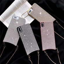 B26 with strap case for iphone X / XS hot shine back cases