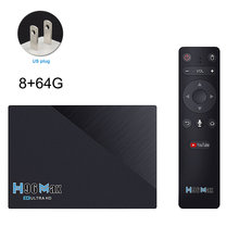 Network Player For TV Audio Home Remote Control USB 2.4GHz Bluetooth 4.0 Indoor Multifunction With Cable HD Set Top Box Office