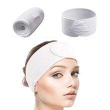 1 peça auto-adesivo make up bandana estilo yoga esportiva chuveiro bandana fita limpa