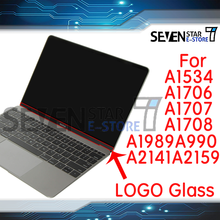 Laptop LCD Screen Glass Logo Bezel Front Display Cover Macbook Pro15 Air13 A1706A1707 A1708 A1989 A1990 A2159 A2141 A1534 A1932