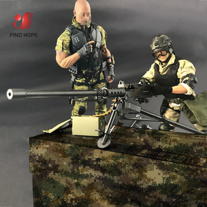 Image 5 - 1:6 Scale Browning M2 MACHINE GUN Model Military US Army Assembly Toy for Action Figure Accesssories