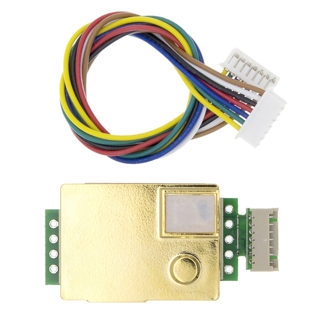 1pcs MH Z19B Winsen MH Z19 Infrared Co2 Sensor For Co2 Monitor 5000ppm Output New Original High Quality CO2 Detection Sensor|Gas Analyzers|   -