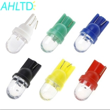 4X white red blue green yellow RGB T10 W5W 168 194 1 smd 1smd Car Auto Wedge Light Side Dashboard Number Plate Lamp Bulb DC 12V aslent 4pcs t10 w5w 194 led 3030smd car light bulbs auto lamp car door light turn reading lights ice blue white red yellow 12v