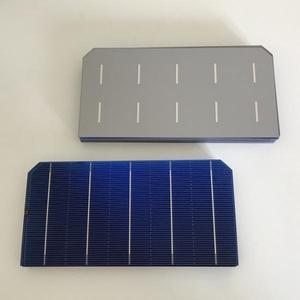 Image 4 - ALLMEJORES kits de paneles solares de 12V y 100W, células solares monocristalinas, 40 unidades/lote, con suficiente cable de tabulación y Barra colectora + pluma fundente