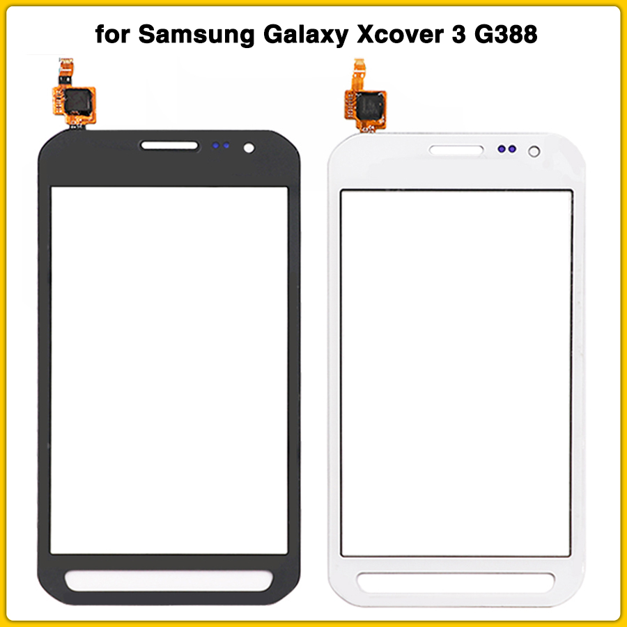 new TouchScreen for Samsung Galaxy Xcover 3 G388F G388 Touch screen Panel Digitizer Sensor front Lens Glass