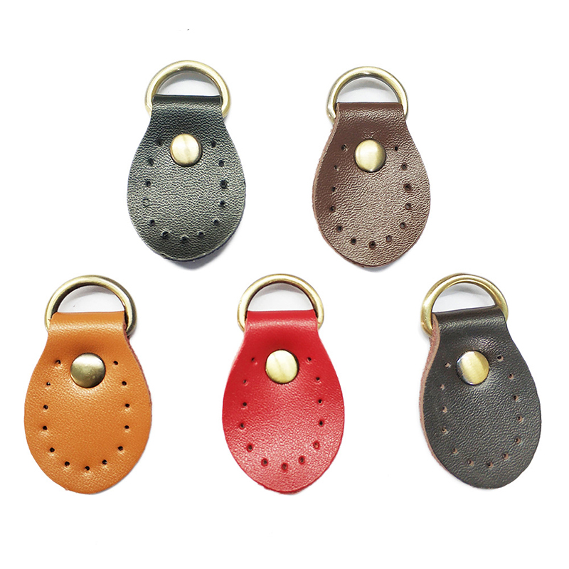 1PC Fashion D Shape Leather Handmade Buckle Replacement For DIY Handbag Shoulder Bag Block Lock Accessories