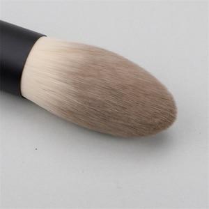 Image 4 - Японский бренд + SP темно красный 6 шт набор кистей для макияжа, Мягкая косметическая кисть для пудры, аксессуары для инструментов