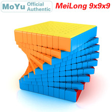 MoYu MeiLong 9 9x9x9 Magic Cube MeiLong9 9x9 Professional Speed Cube Puzzle Antistress Fidget Educational Toys For Children moyu mf9 cubing classroom 9 9 9 magic cube professional speed puzzle 9x9 cube fidget magico cubo educational toys kid gifts