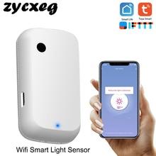 Tuya Wifi Smart Licht Sensor Smart Home Licht Automatisierung Gefühl Verknüpfung Steuerung Automatische Licht Sensor