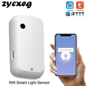 Image 1 - Tuya Wifi Smart Light Sensor Smart Home Light Automation Sense Linkage Control