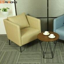 Современный простой ткани Гостиная офисные Repcetion Исполнительный Vip диван-кровать