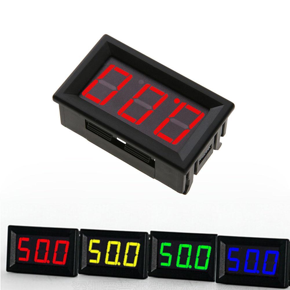 0.56in Мини DC 0- 100 в 3-Провода вольтметр светодиодный Дисплей цифровой Панель вольтметр Напряжение метр тестер детектор измерительный инструме...