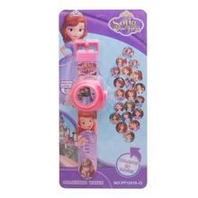 Disney sofia 20 pictures children cartoon projection electronic watch boys and g