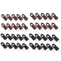 10Pcs Abnehmbare Zip Fixer Ersatz Zipper Tags Tabs Installieren Zange für Handtaschen Kleidung Gepäck Rucksäcke Jacken DIY Handwerk
