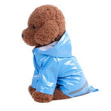 Waterproof Pet Dog Rain Coat Jacket Impermeable PU Raincoat For Dogs Outdoor for Small Clothes