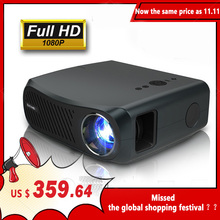 Caiwei Full Hd Projector A12 1920X1080P Android 6.0 (2G + 16G) wifi Led Mini Projector Home Cinema Hdmi 3D Video Beamer Voor 4K