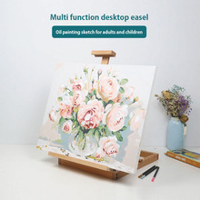 Adjustable Height Multifunctional Desktop Easel For Children Student Artist Adult Oil Painting Sketchpad Drawing Board Bracket