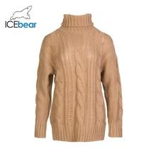 ICEbear New Chunky Turtleneck Sweater Women Autumn Winter So
