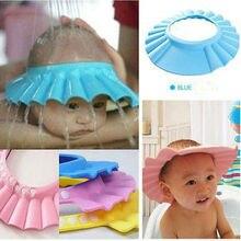 США безопасный Шампунь Душ шапочки для ванной Защитите мягкую шапку детская Кепка унисекс