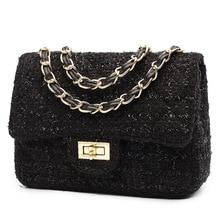 High Quality Women Shoulder Bag Luxury Handbags Bags Designer Wild Girls Small Square Messenger bolsa feminina