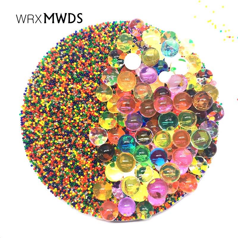 100000 PCS/Bag Hydrogel Pearl Shaped Crystal Soil Water Beads orbiz Gel Ball For Flower/Weeding Mud Growing Balls|Crystal Soil| |  - title=