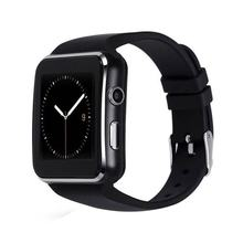 X6 Smart Watch Bluetooth Smartwatch with Camera Touch Screen Support SIM TF Card for Android Phone(China)